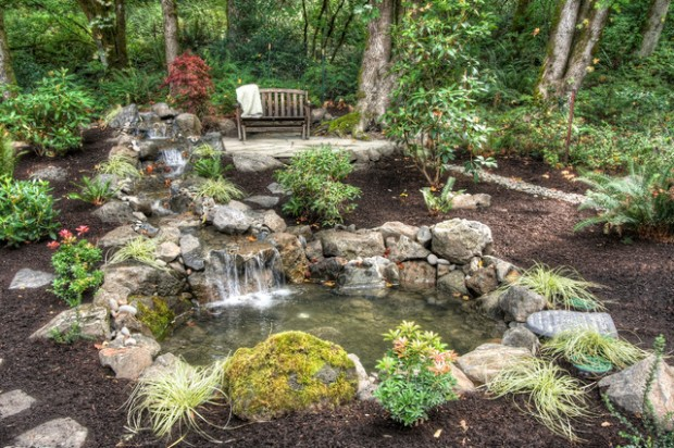 22 Great Pond Design Ideas for Your Garden (13)