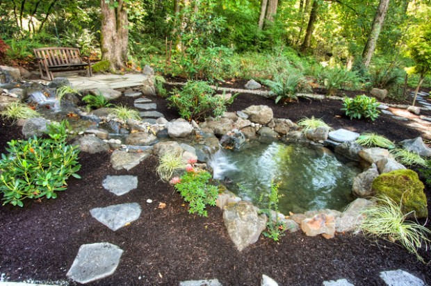 22 Great Pond Design Ideas for Your Garden (14)