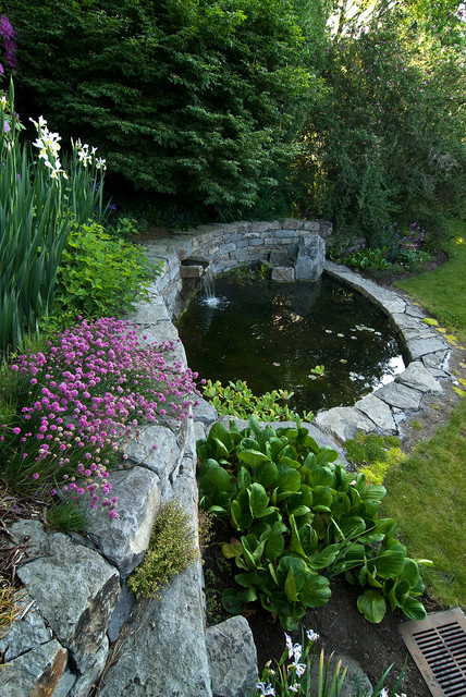 20 great pond design ideas for your garden style motivation for Garden pond design