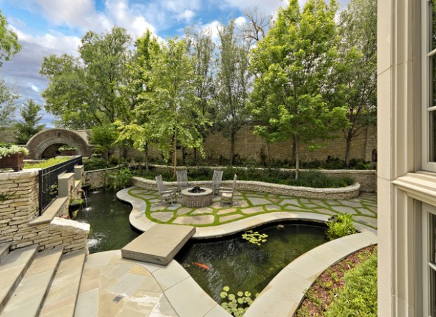 22 Great Pond Design Ideas for Your Garden (19)