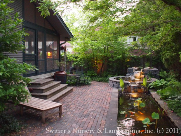 22 Great Pond Design Ideas for Your Garden (2)