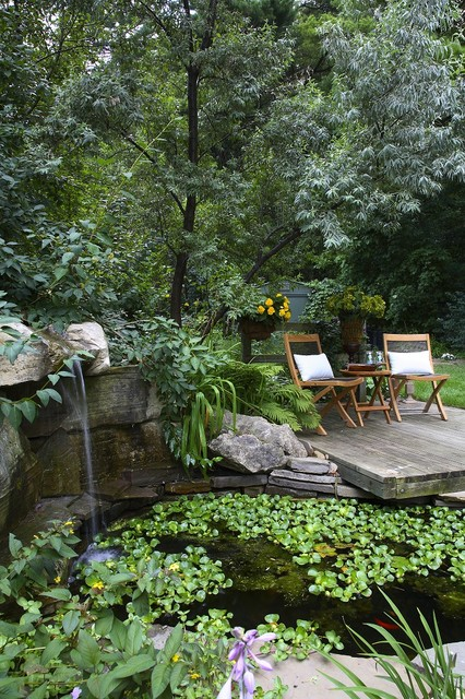 22 Great Pond Design Ideas for Your Garden (21)