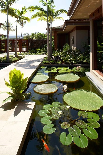 22 Great Pond Design Ideas for Your Garden (22)