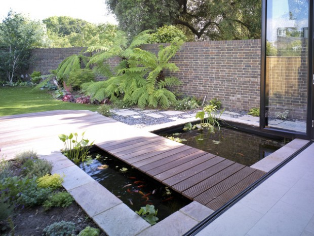 22 Great Pond Design Ideas for Your Garden (3)