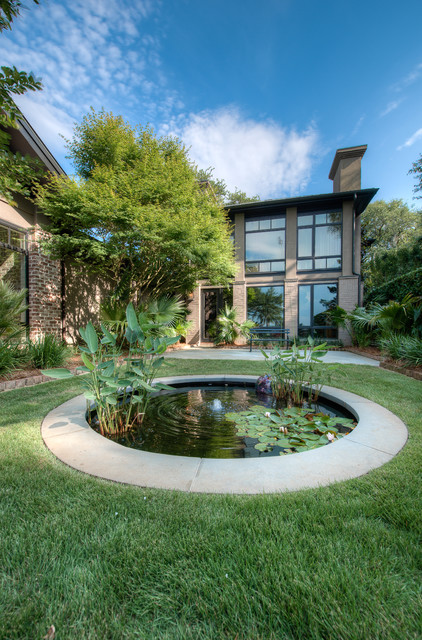 22 Great Pond Design Ideas for Your Garden (4)
