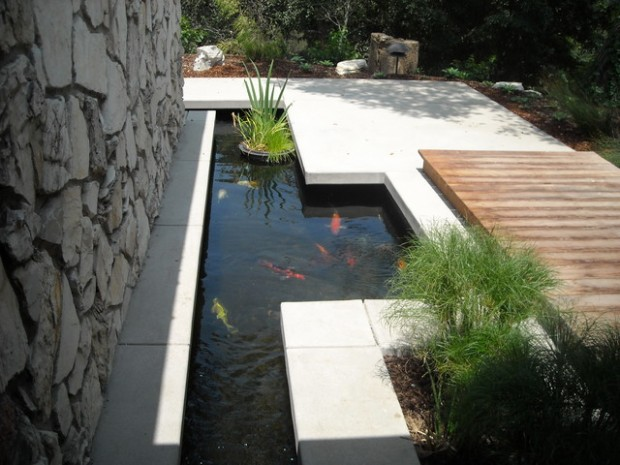 22 Great Pond Design Ideas for Your Garden (5)
