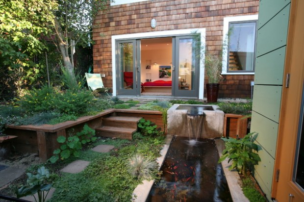 22 Great Pond Design Ideas for Your Garden (9)
