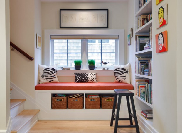 22 Window Nook Design Ideas- Perfect Place for Relaxation at Home (20)