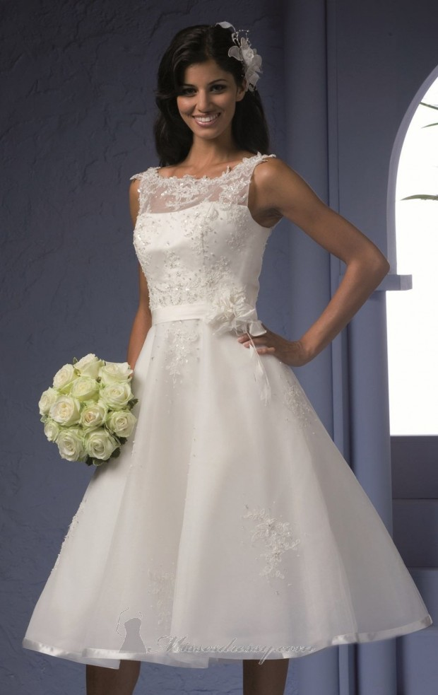 23 Beautiful Short Wedding Dresses