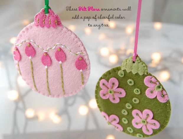 22 Cute DIY Christmas Ornaments
