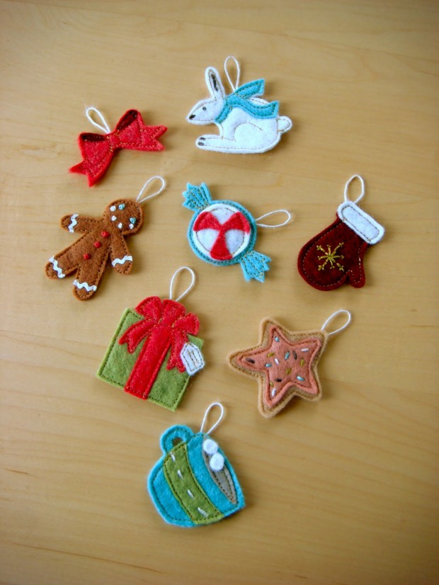 23 Cute DIY Christmas Ornaments (21)