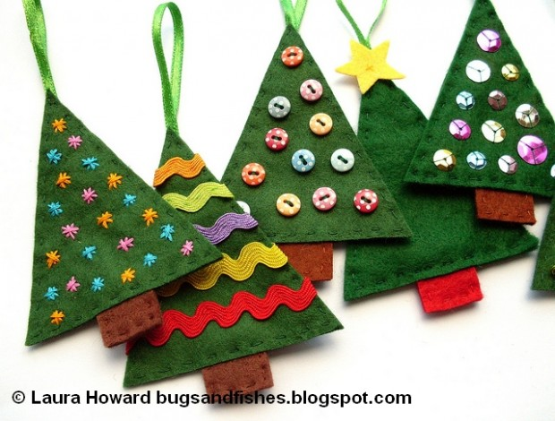 23 Cute DIY Christmas Ornaments (22)