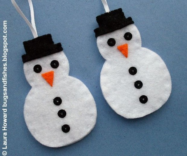 23 Cute DIY Christmas Ornaments (5)