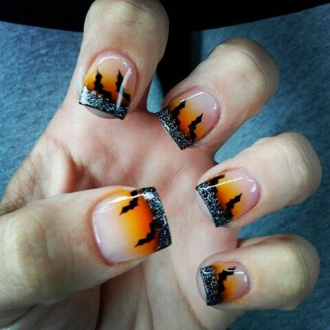 23 Easy Creative and Funny Nail Art Ideas for Halloween ...
