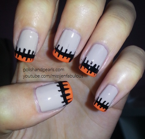 23 Easy Creative and Funny Nail Art Ideas for Halloween (10)