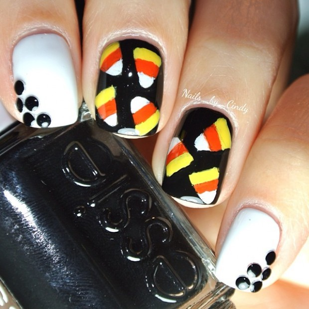 23 Easy Creative and Funny Nail Art Ideas for Halloween (13)