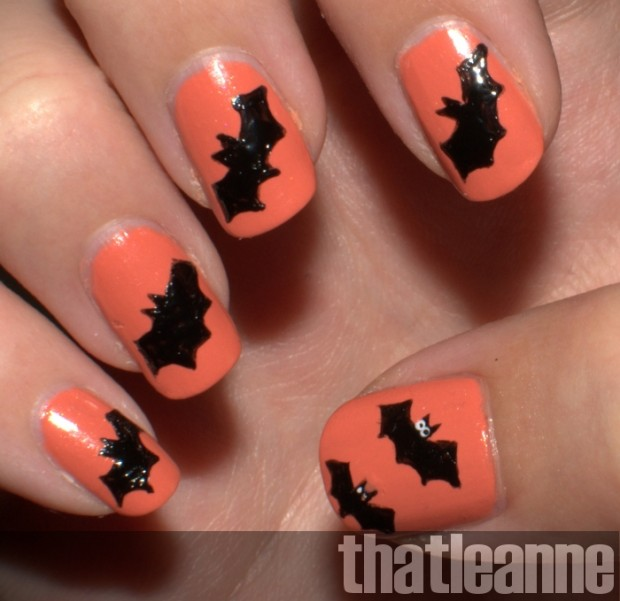 23 Easy Creative and Funny Nail Art Ideas for Halloween (16)