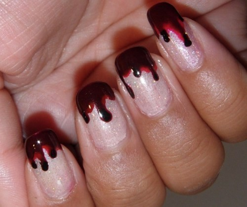23 Easy Creative and Funny Nail Art Ideas for Halloween (20)