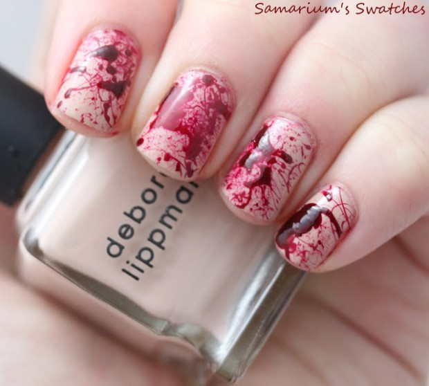 23 Easy Creative and Funny Nail Art Ideas for Halloween (21)