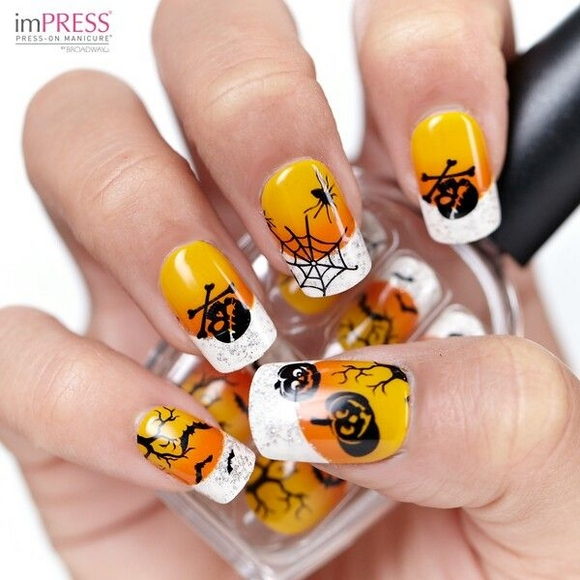 23 Easy Creative and Funny Nail Art Ideas for Halloween (23)