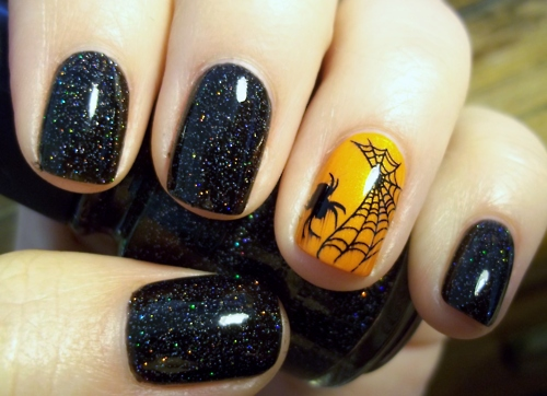 23 Easy Creative and Funny Nail Art Ideas for Halloween (4)
