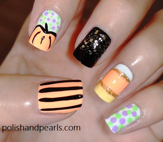 23 Easy Creative and Funny Nail Art Ideas for Halloween (6)