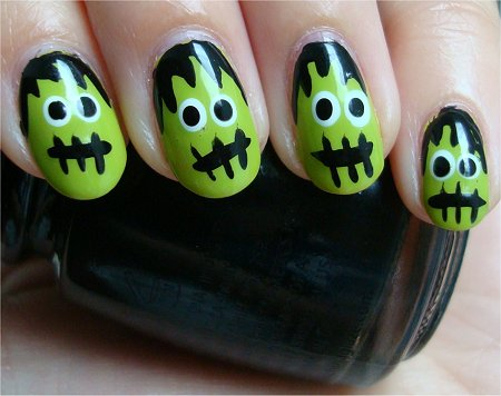 23 Easy Creative and Funny Nail Art Ideas for Halloween (7)