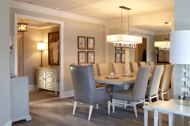Elegant Tableware For Dining Rooms With Style: 21 Elegant Dining Room Design Ideas