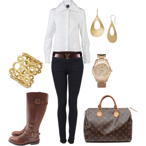 24 Amazing Casual Combinations for Every Day (13)