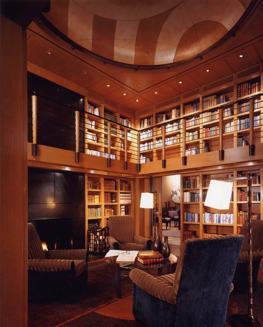 Home Office Library Design Ideas: 23 Amazing Home Library Design Ideas For All Book Lovers