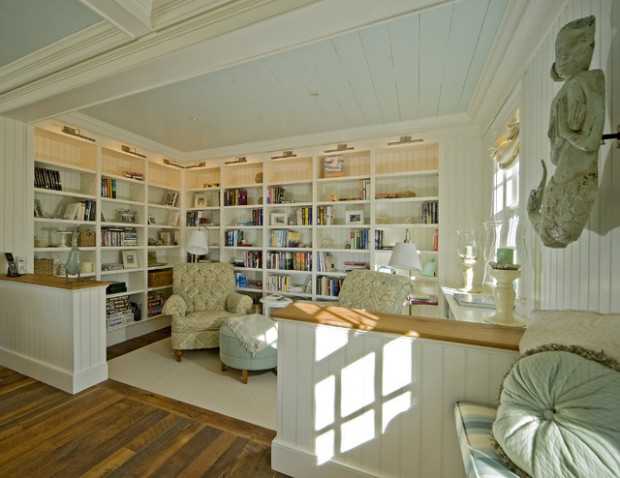 24 Amazing Home Library Design Ideas for All Booklovers (20)