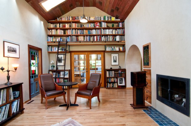 24 Amazing Home Library Design Ideas for All Booklovers (3)