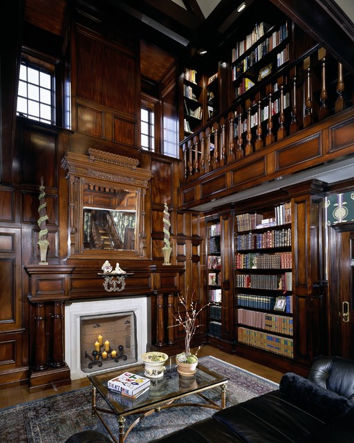 24 Amazing Home Library Design Ideas for All Booklovers (5)
