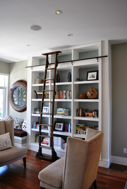 24 Amazing Home Library Design Ideas for All Booklovers (8)