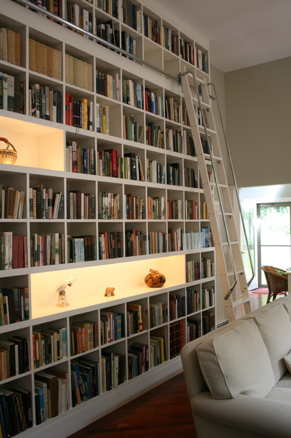 24 Amazing Home Library Design Ideas for All Booklovers (9)