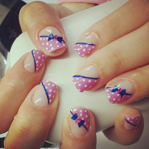 Adorable Nail Art: 24 Cute Nail Art Ideas