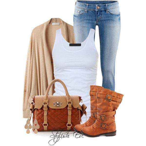 24 Nude and Brown Fashion Combinations in Fall Spirit (1)