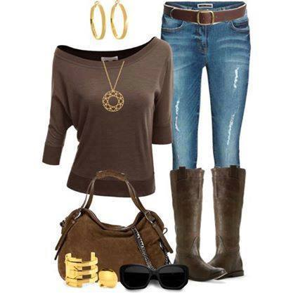 24 Nude and Brown Fashion Combinations in Fall Spirit (12)