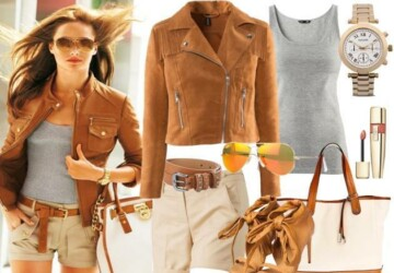 24 Nude and Brown Fashion Combinations in Fall Spirit - nude, fashion combinations, fall outfit ideas, Brown