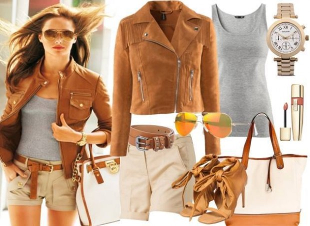 24 Nude and Brown Fashion Combinations in Fall Spirit (13)