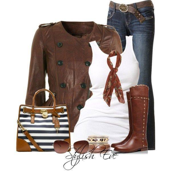 24 Nude and Brown Fashion Combinations in Fall Spirit (15)