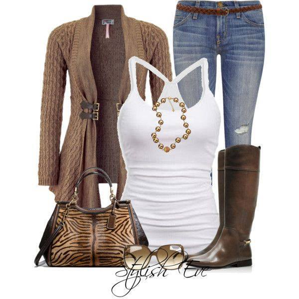 24 Nude and Brown Fashion Combinations in Fall Spirit (17)