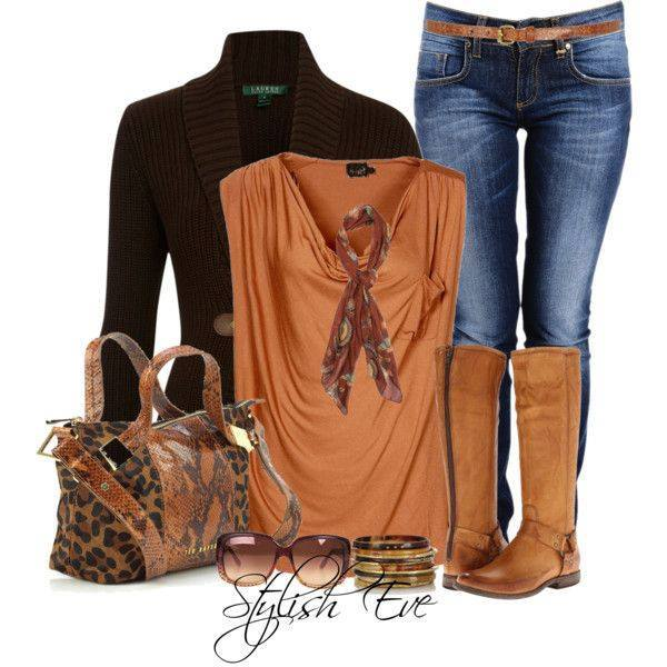 24 Nude and Brown Fashion Combinations in Fall Spirit (18)