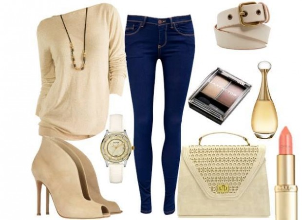 24 Nude and Brown Fashion Combinations in Fall Spirit (19)