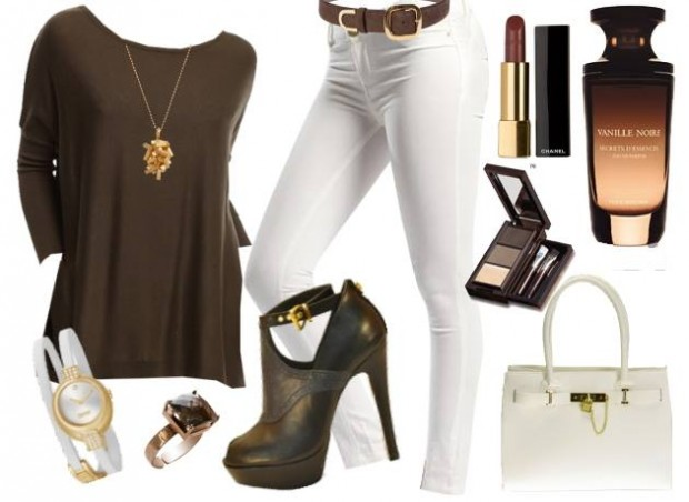 24 Nude and Brown Fashion Combinations in Fall Spirit (2)