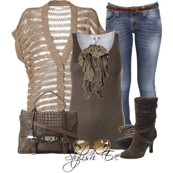 24 Nude and Brown Fashion Combinations in Fall Spirit (20)
