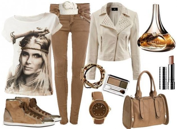 24 Nude and Brown Fashion Combinations in Fall Spirit (21)