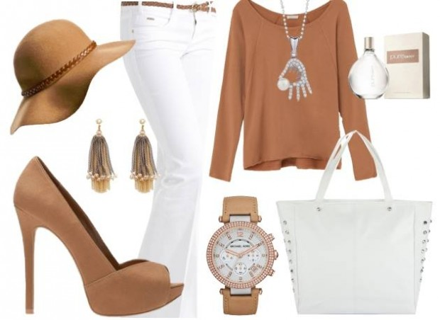 24 Nude and Brown Fashion Combinations in Fall Spirit