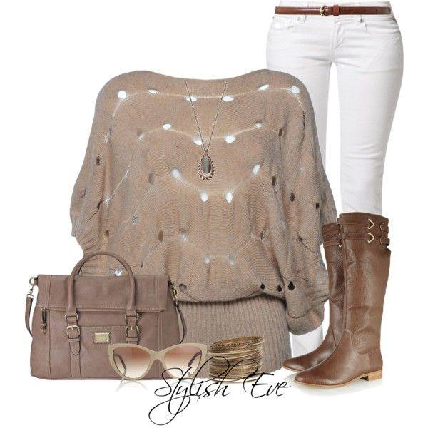 24 Nude and Brown Fashion Combinations in Fall Spirit (4)