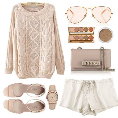 24 Nude and Brown Fashion Combinations in Fall Spirit (6)